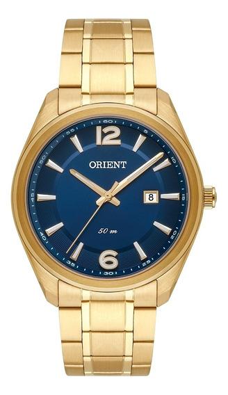Relógio Masculino Orient Dourado Mgss1165d2kx