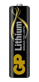 Pilha Aa Lithium Gp Até 10x Mais ( 24 Pilhas )