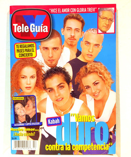 Revista Tele Guia Kabah Contra Ov7