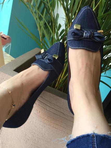 Mocassim Jeans Confort Luxo Santa Liz Coleção 2020 Atacado