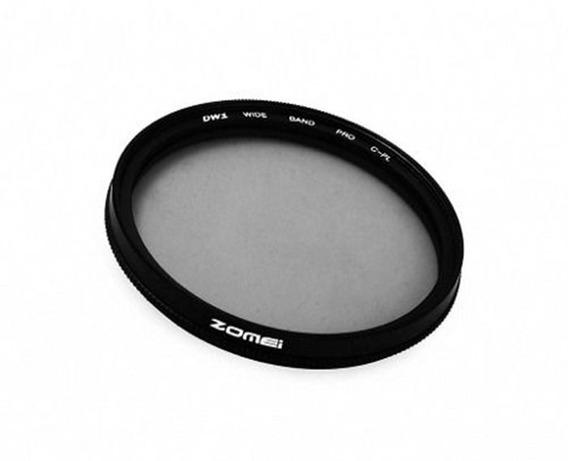 Filtro Cpl Polarizador Zomei Rosca 49mm Canon Nikon Sony