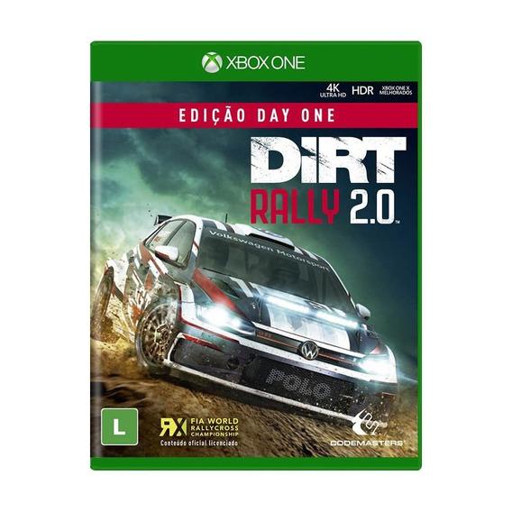 Jogo Midia Fisica Dirt Rally 2.0 Ediçao Day One Pra Xbox One