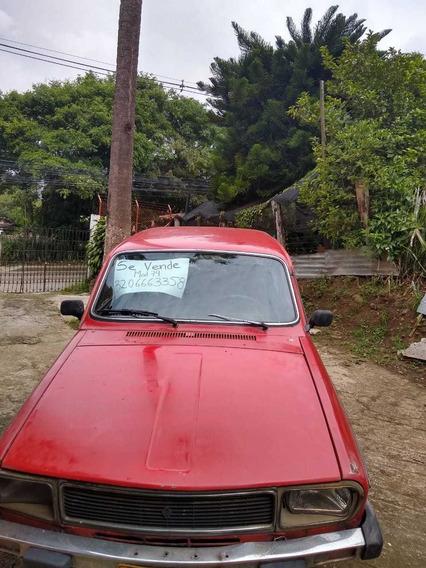Vendo Vehiculo Renault 12 Col Rojo 4 Puertas, Motor 1.300c.c