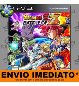 Dragon Ball Z Battle Of Z Ps3 - Envio Hoje Digital Legendado