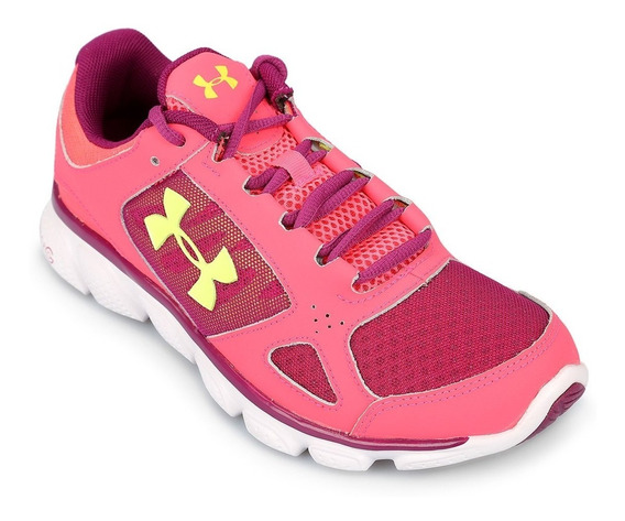 Zapatilla Mujer Under Armour Assert Fucsia Running Gym Gel