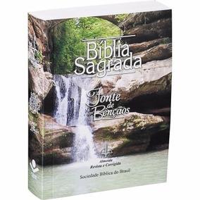 Bíblia Brochura Capa Cachoeira.