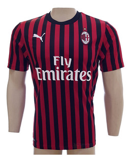 Camisa Puma Milan Listrada Preta Tam P Ao Gg