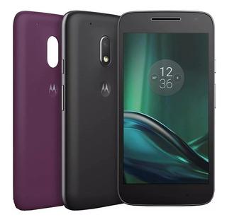 Celular Motorola Moto G4 Play 16gb Dual Tv Xt1603 Vitrine Nf