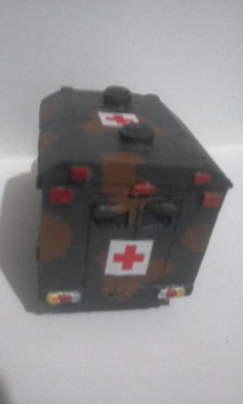 Miniatura Militar Ambulância