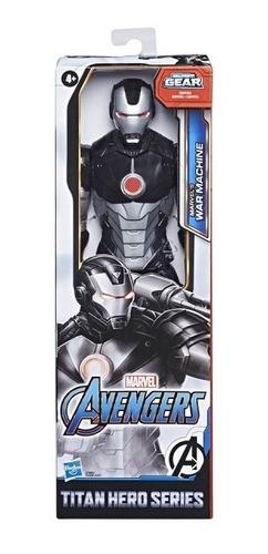 Boneco Avengers F12 Titan Hero War Machine Hasbro E7880