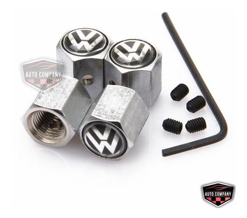 Tapa Valvulas Volkswagen Antirrobo Version De Lujo