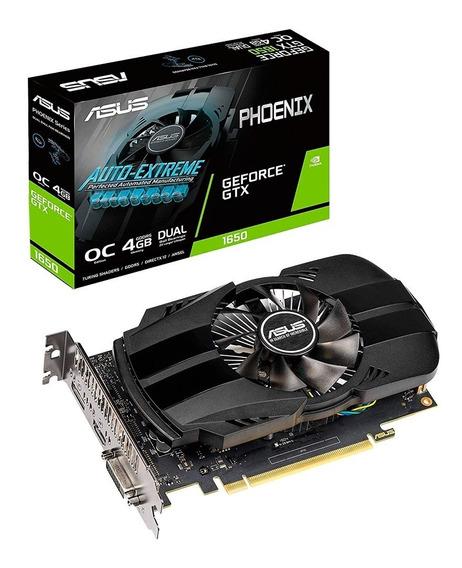Placa De Video Geforce Gtx 1650 4gb Asus Phoenix Oc Xellers