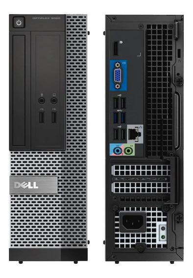 Cpu Dell Optiplex Sff 7020 Core I3 4ªg 4gb Ssd 120gb Wifi