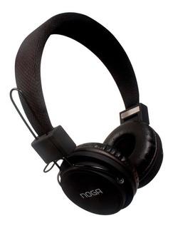 Auricular Ng-55 Noganet Negro- Conección Auxiliar