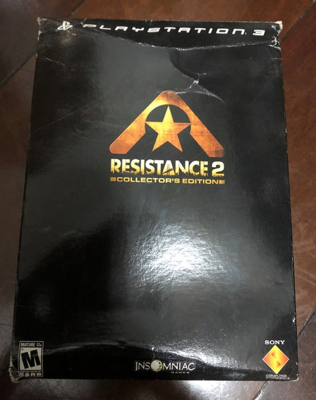 Resistance 2 Collectors Edition Ps3 Americano Completo