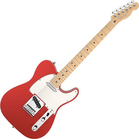 Guitarra Fender Americana Deluxe Telecaster Candy Apple Red