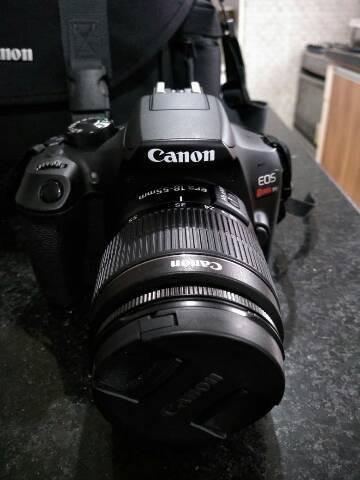 Câmera Profissional Canon Eos Rebel T6