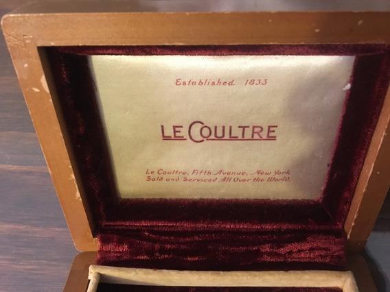 Estuche Lecoultre De Madera Años 50´s Original Vintage