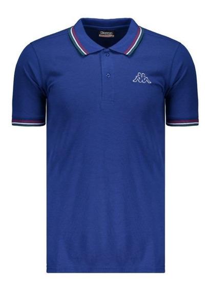 Camiseta Polo Kappa Fuerza Oficial P Nova Promoção