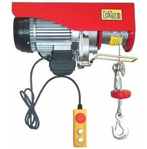 Aparejo Electrico Bta 250/500 Kilos 6/12 Metros 903004 900w