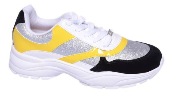 Zapatillas Mujer Urbana Sneakers Combinada Vizzano 1331-103