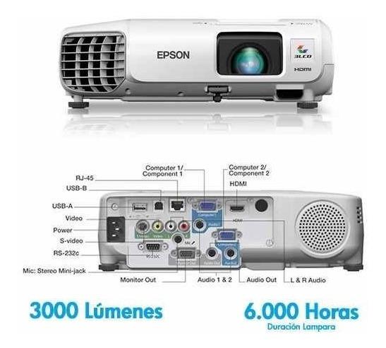 Proyector Epson Powerlite 98 Xga 3000 Lumens (380 Trumps)