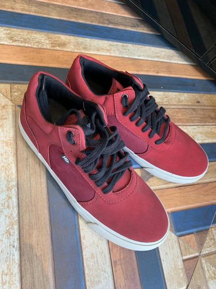 Tênis - H D - Vermelho Fosco