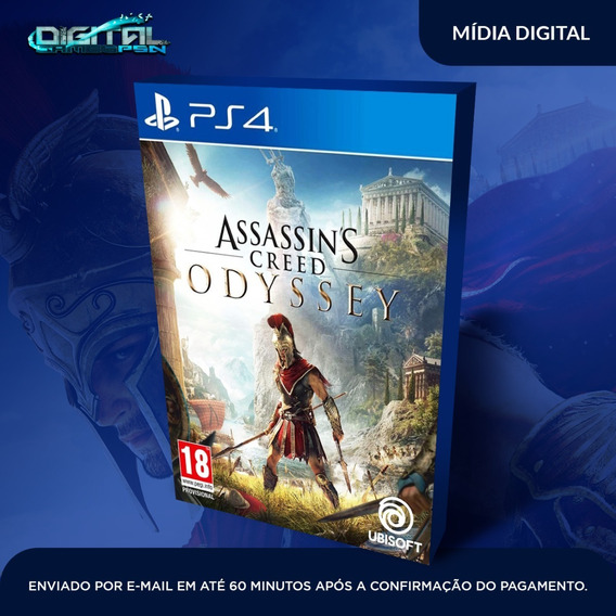 Assassins Creed Odyssey Ps4 Psn Primária Pt-br Envio Hoje