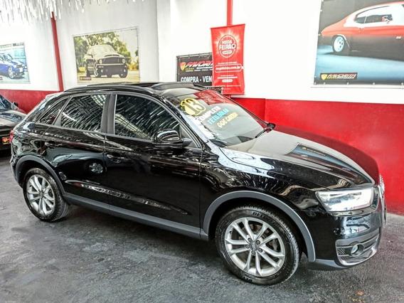 Audi Q-3 2.0 Tfsi 13 Top C/ Teto Troco Favorita Multimarcas