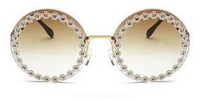 Óculos De Sol Daisy Daisy Gabriela Dg2170 Strass Pugliesi