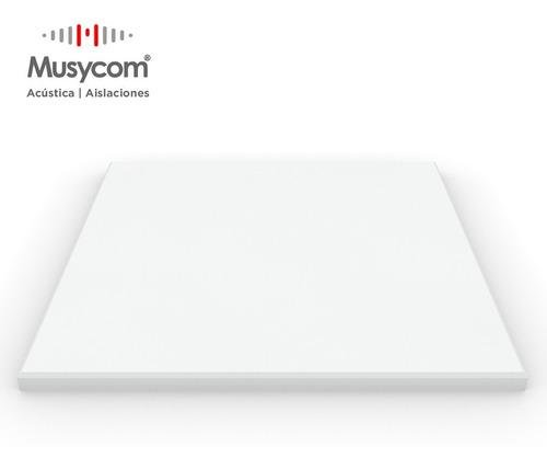 Imagen 1 de 7 de Panel Acústico Premium Ignifugo Liso 20mm Espesor Musycom