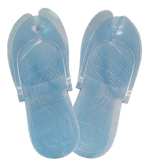 Sandalias Para Viaje Plegables De Pvc Chanclas Playa Baño