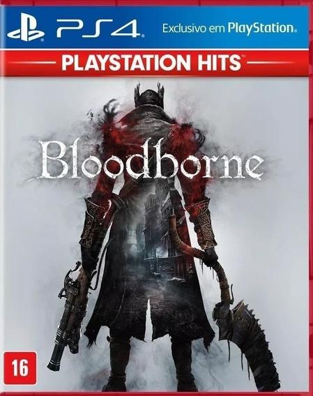 Bloodborne Ps4 Português Midia Fisica Novo Lacrado + Nf