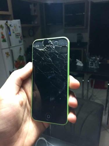 iPhone 5c ( Para Retiradas De Peças ) Funcionado Tudo.