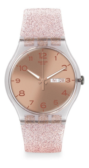 Reloj Pink Glistar Rosa Swatch