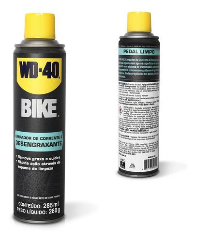 Imagem 1 de 3 de Desengraxante Limpador Corrente Bike Wd40 285ml