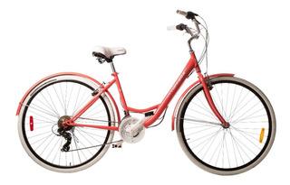 Bicicleta Paseo Dama Top Mega Rodado 28 Lady Quilmes Gmstore