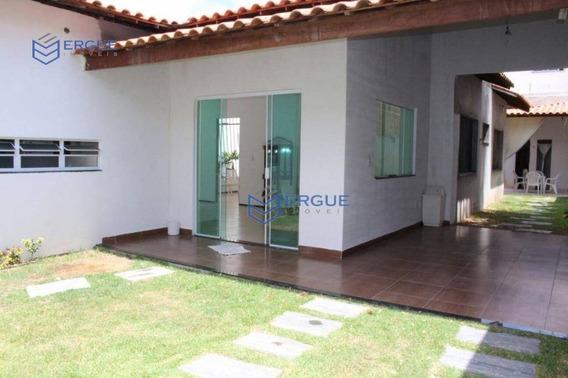 Casa Com 3 Dormitórios À Venda, 210 M² Por R$ 800.000,00 - Cocó - Fortaleza/ce - Ca0157