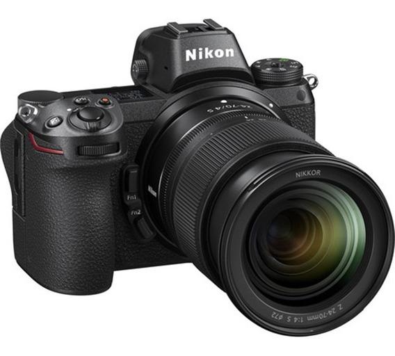 Nikon Z6 Mirrorless 4k + 24-70mm F/4 S
