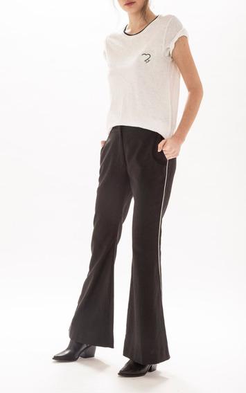 Pantalon Paula Cahen Danvers Oxford Diane Negro
