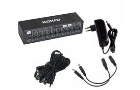 Fonte Kokko Power Switch 9v 12v 18v P/ 10 Pedais De Efeitos