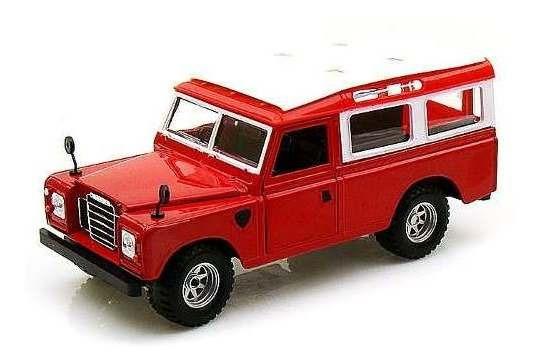 Land Rover Series 2 - Escala 1:25 - Bburago