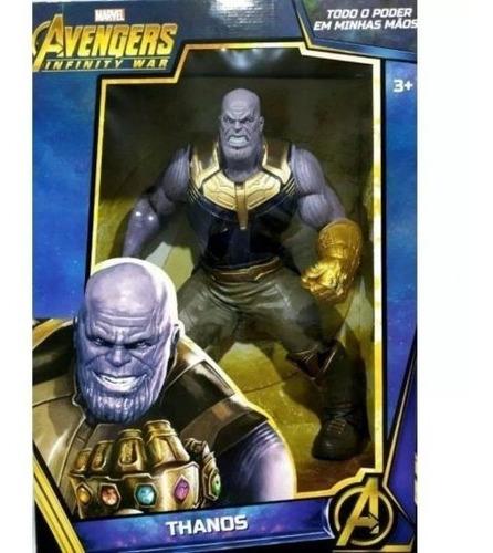 Boneco Articulado Vingadores Avengers Infinito Thanos +brind