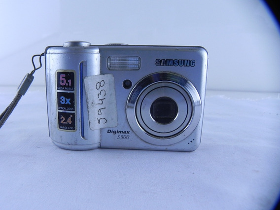 Câmera Samsung S600 Para Retirada De Peças-usada Com Defeito