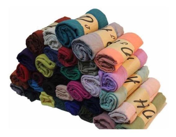 50 Pashminas Colores Surtidos