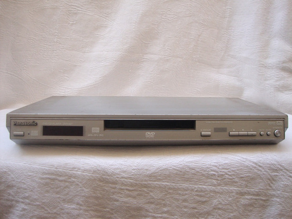 Dvd Panasonic Dvd-s27 Com Defeito (sucata) Leia A Descrição