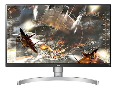 """Imagem 1 de 6 de Monitor gamer LG 27UL650 led 27"""" branco 100V/240V"""