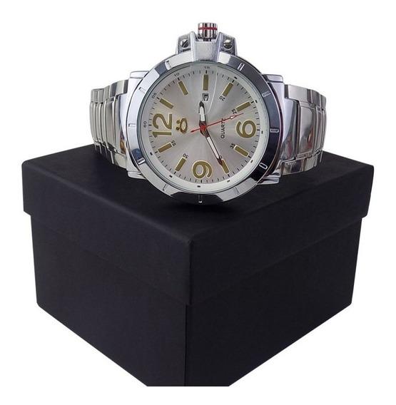 Relógio Masculino Spaceman Orizom Analógico + Caixa Rospd12