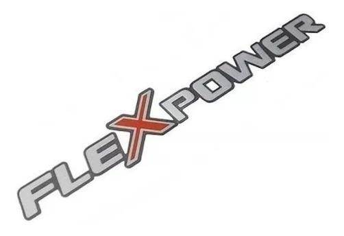 Emblema Flexpower Vermelho