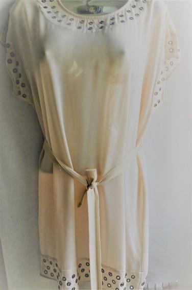 Vestido Para Damas Estilo Casual Talla S Color Ivory Importa
